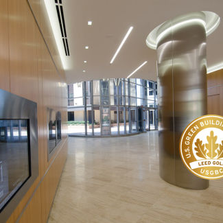 3701 N Fairfax Lobby Door