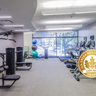 3701 N Fairfax Fitness Room