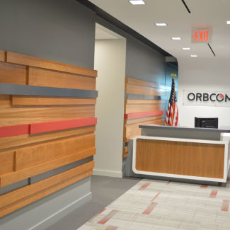 ORBCOMM Reception Area Front