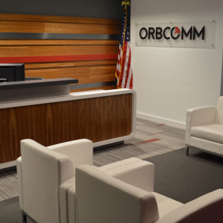 ORBCOMM Reception Area