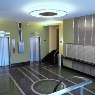 Park Terrace Lobby Mailboxes