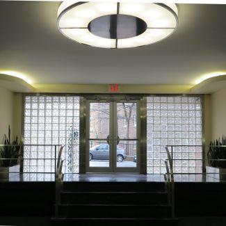 Park Terrace Lobby Door