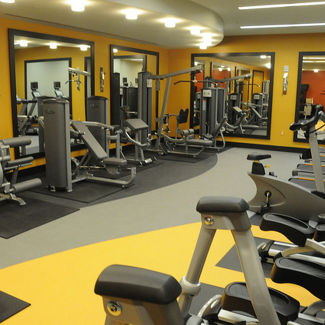 The Washington Center Fitness Room